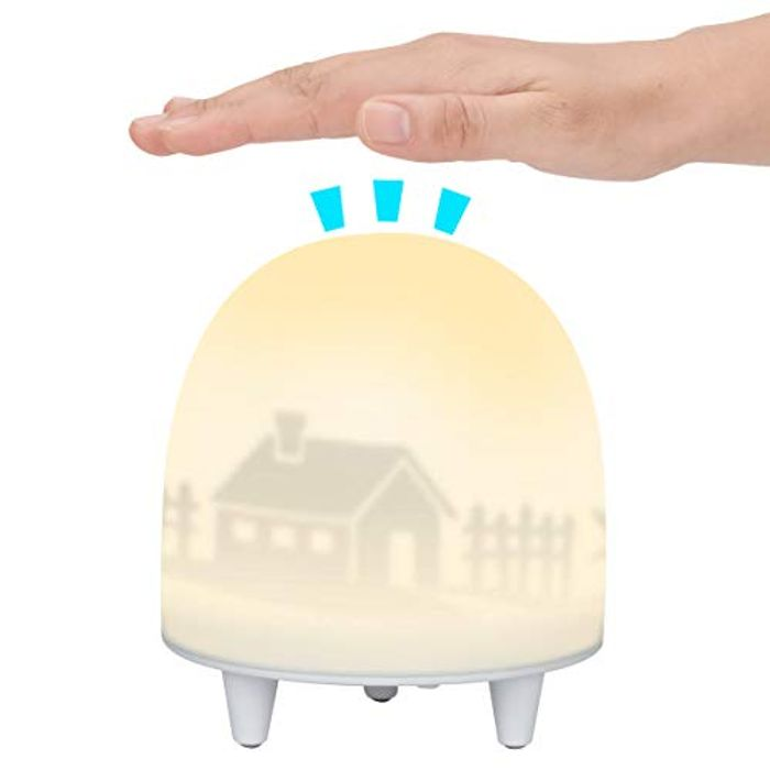 ELZO Colour Changing Rechargeable LED Night Light with 4 Modes