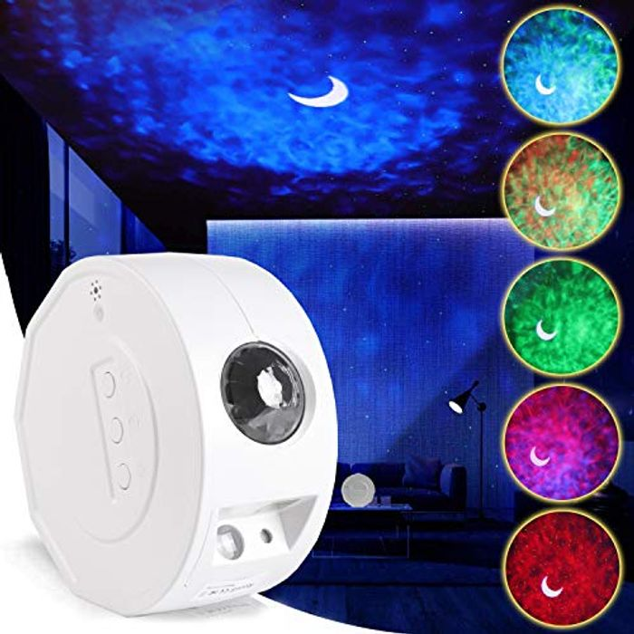 DEAL STACK - LED Star Night Light, RHM Galaxy Projector Light + 10% Coupon