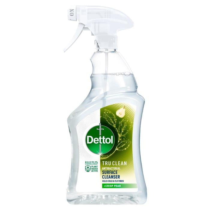 Dettol Tru Clean Antibacterial Spray Pear 750Ml