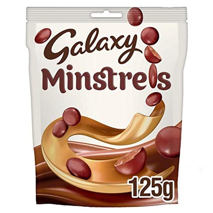 Galaxy Minstrels Chocolate Bag, 125g
