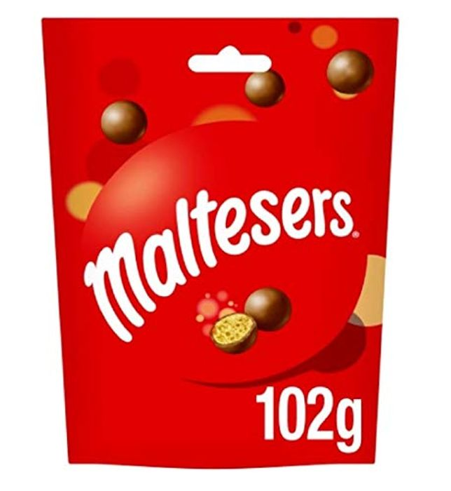 Maltesers Chocolate Pouch, 102g