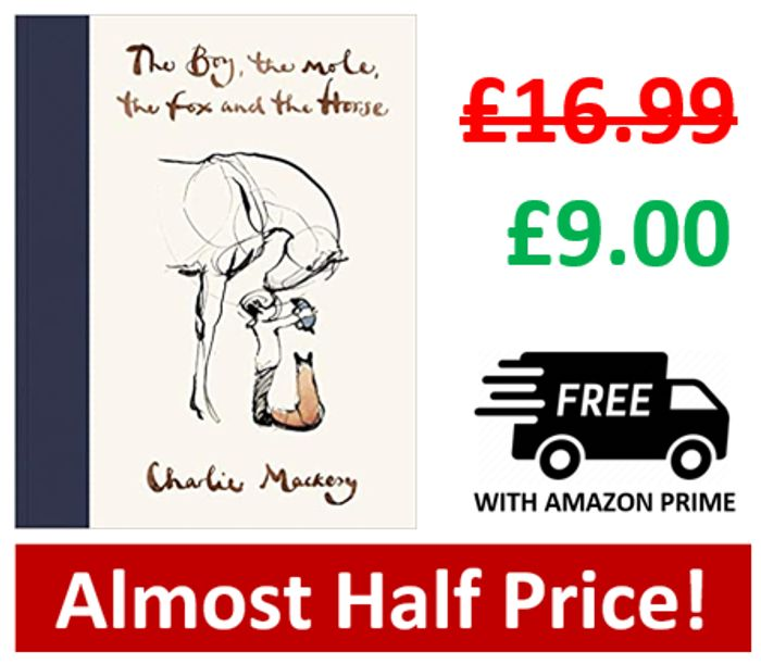 The Boy, the Mole, the Fox and the Horse *4.9 STARS* Age 12+