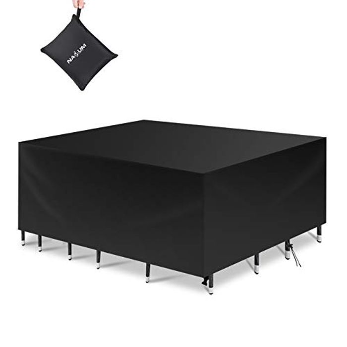 NASUM Waterproof Windproof and Anti-UV Garden Furniture Covers - Only £9.49!