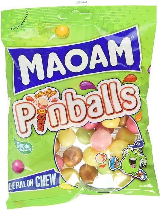 Maoam Pinballs Sweets, 140 G
