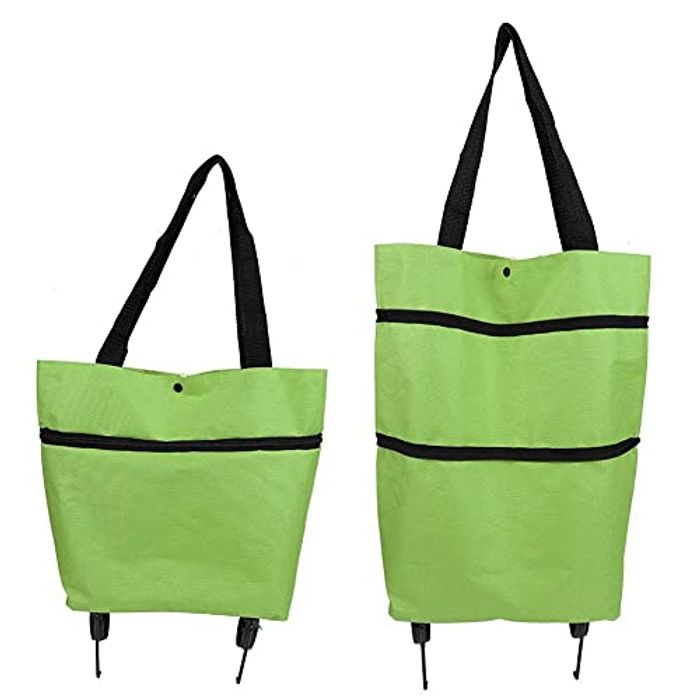 Collapsible Trolley Bags with Wheels,