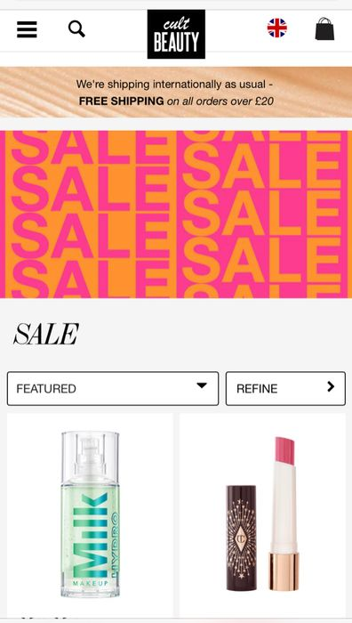 Cult Beauty Upto 30% off Sale