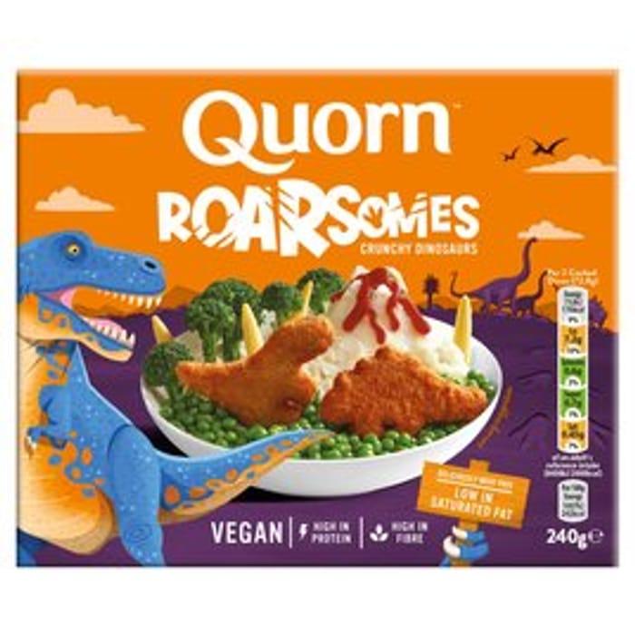 Quorn Roarsomes Vegan Dinosaurs240g