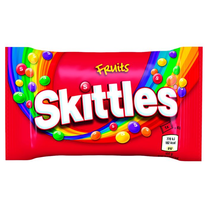 Skittles Fruit Bag 45g Only 3 for 99p at ClearanceXL