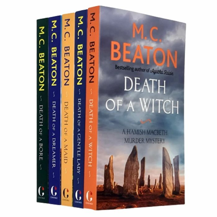 M C Beaton/ Hamish Macbeth Book Set ,Save 62 % , Thebookbundle