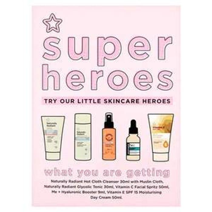 Superdrug Super Heroes Skincare Gift Set- worth a LOT MORE!!