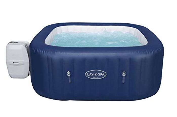 Lay-Z-Spa Hot Tub, 140 AirJet Massage System Spa 6 Person