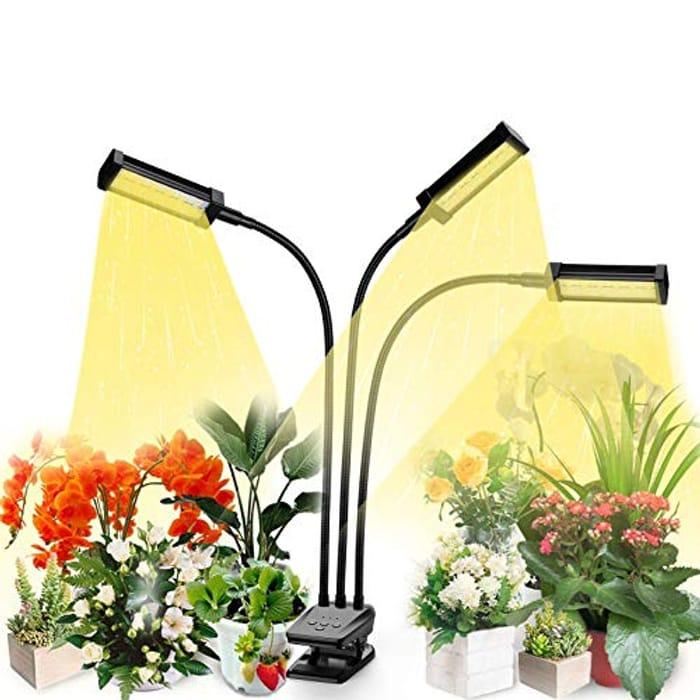 1/2 Price! 72W Full Spectrum Plant Grow Light with 10 Brightness Settings