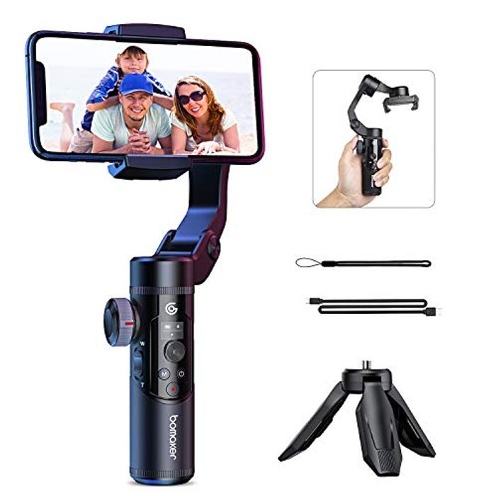 60% Off - 3 Axis Gimbal Smartphone Stabilizer For Vloggers - £44 Delivered