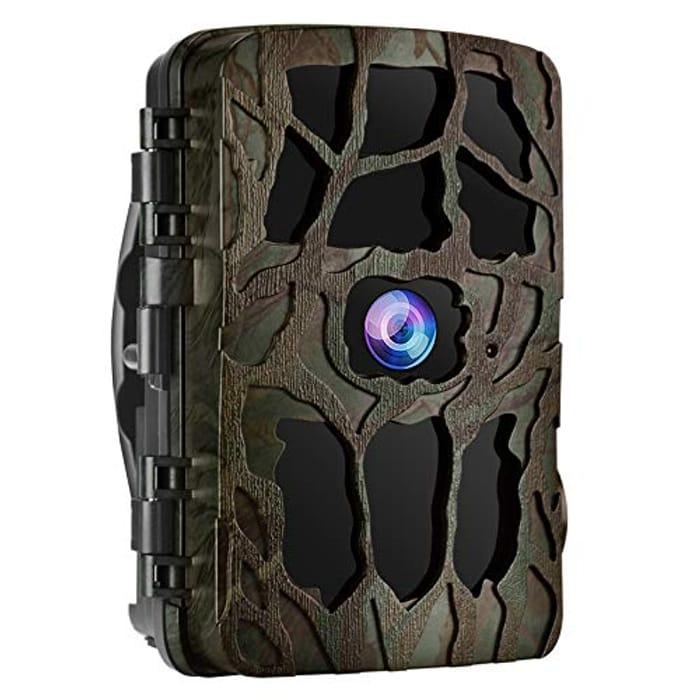 UncleHu Trail Camera, 20MP 4K Full HD Wildlife Camera - Only £23.55!