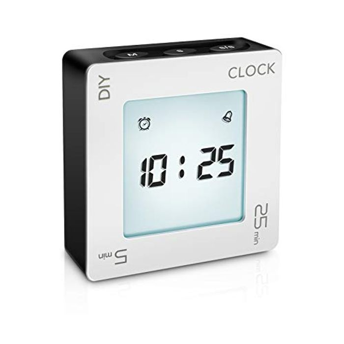 E-More Creative Digital Multifunctional Kitchen Timer - Only £4.50!