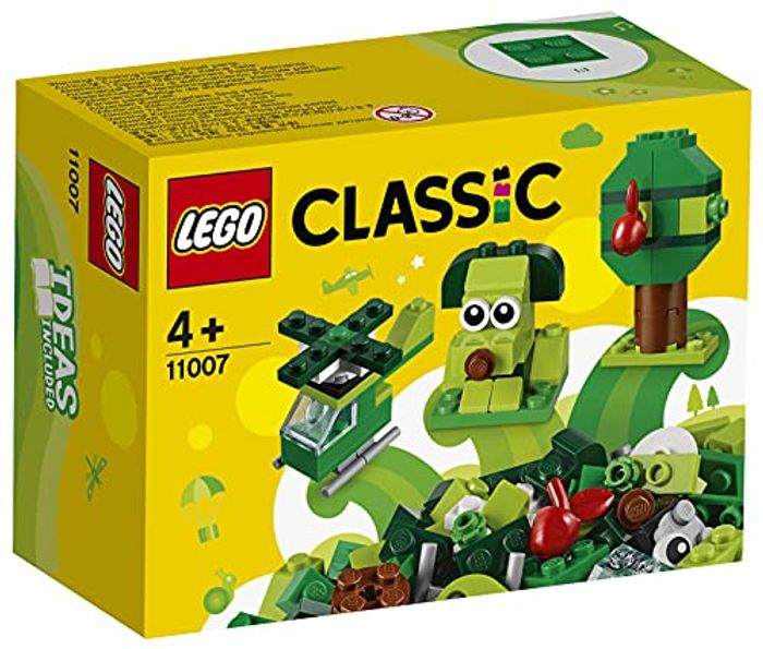 LEGO Classic Creative Green Bricks Learning Starter Set - Only £3.07!