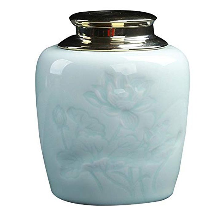 LONGTAP Traditional Chinese Style Ceramic Tea Jar - Only £5.60!