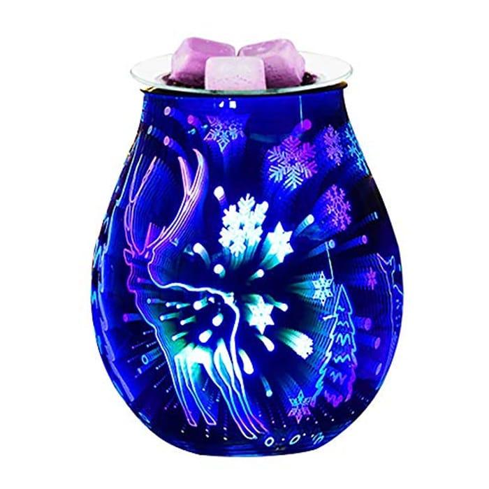 SOOTOP 3d Electric Wax Burner, Lamp Wax Burner - Only £8.99!