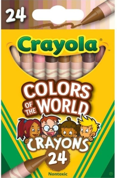 CHEAP! Crayola Colours of the World 24 Crayons