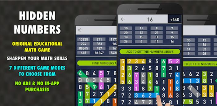 Hidden Numbers Pro - Usually £1.79