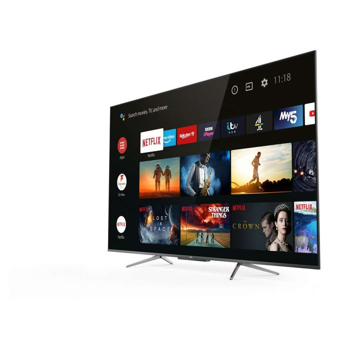 """TCL 65"""" QLED 4K Ultra HD Smart Android TV with Voice Control £620 with Code"""