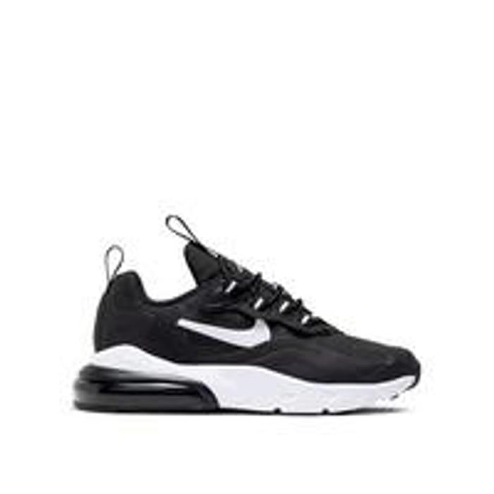 Nike Air Max 270 React Childrens Trainers - Black/White