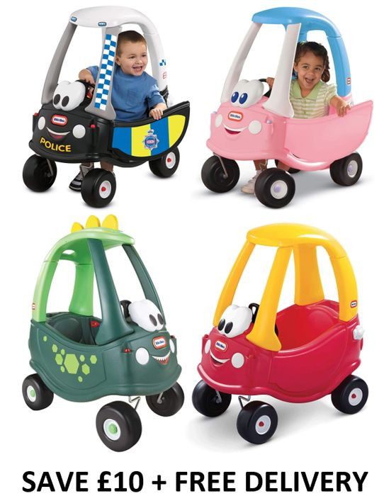 SAVE £10 Little Tikes Cosy Coupe Police Car (OTHER MODELS TOO) £49.99 at Amazon