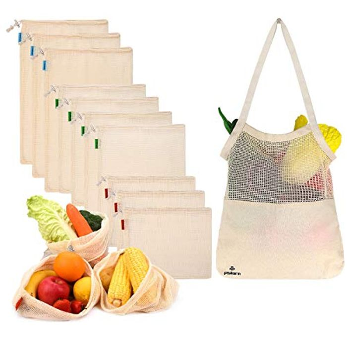 Reusable Produce Bags 11 Pack