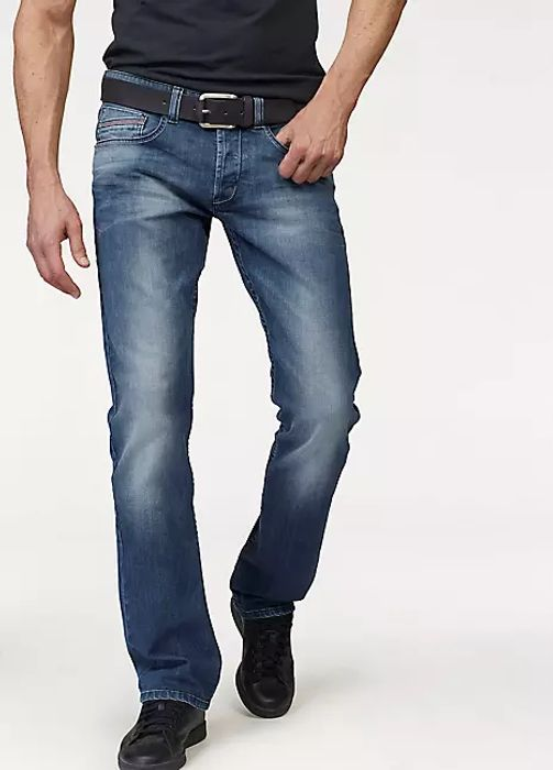 Mens Dylan Straight Leg Jeans by Bruno Banani