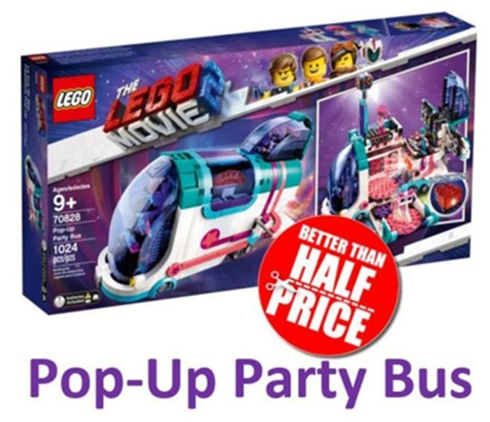 LEGO MOVIE 2 - Pop-up Party Bus (70828)