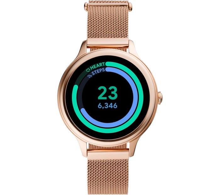 FOSSIL Gen 5E FTW6068 Smartwatch - Rose Gold,