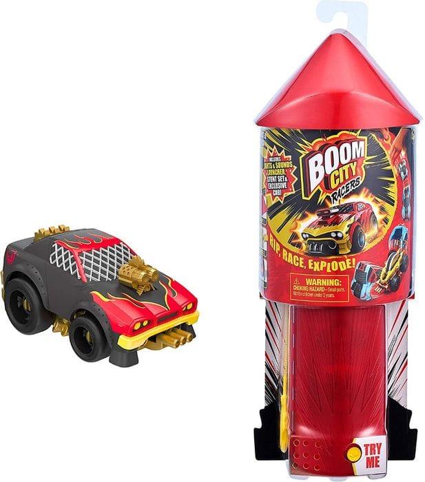 Boom City Racers Car Launcher Stunt Playset plus Hot Dawg!