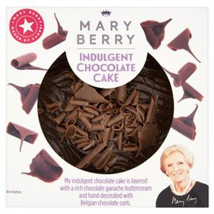 Mary Berry's Indulgent Chocolate Cake
