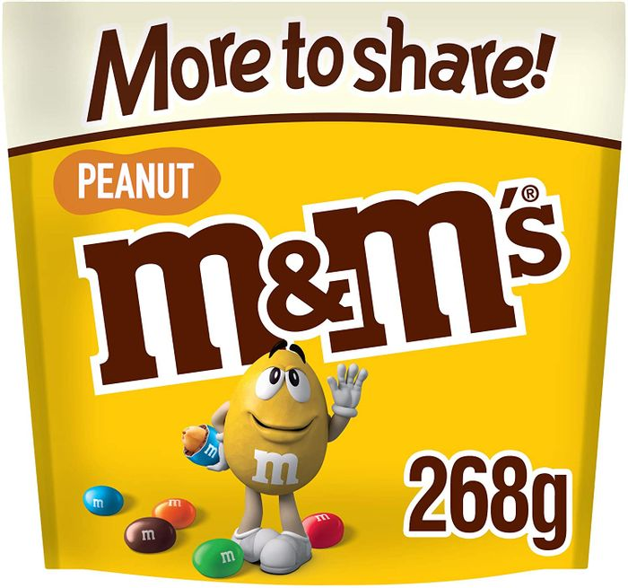 M&M's Peanut Chocolate, More to Share Pouch, 268g - PRICE DROP