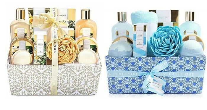 12pcs Vanilla Shower Gift Set + Get FREE 12pcs Ocean Scent Bath Gift Set