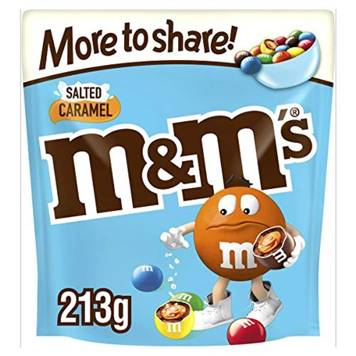 M&M's Salted Caramel Chocolate More to Share Pouch, 213 G