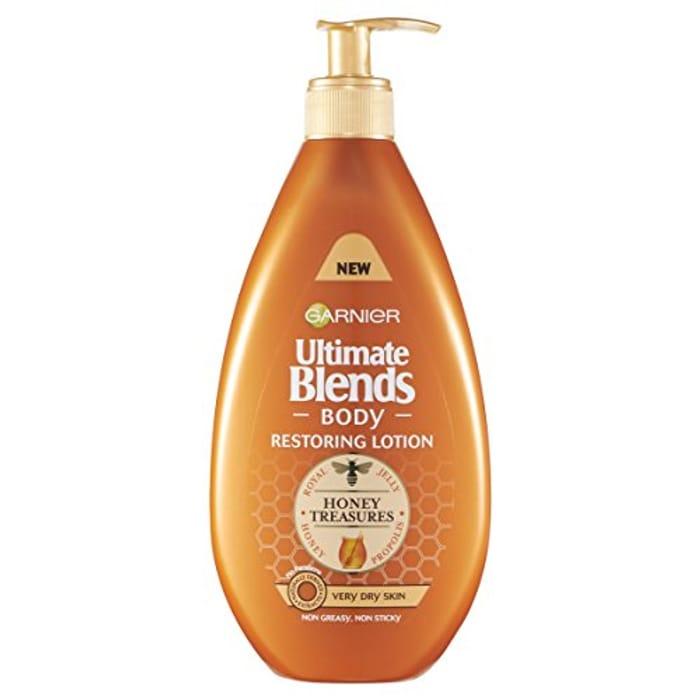 Special Offer! Garnier Ultimate Blends Honey Body Lotion Very Dry Skin, 400ml