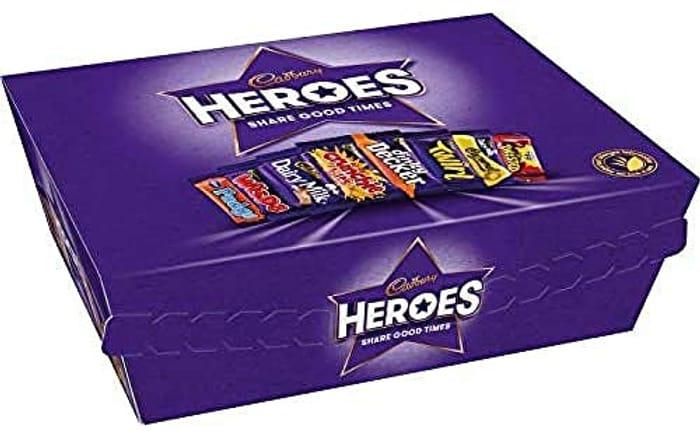 Cadbury Heroes Chocolate Gift Tub 76g