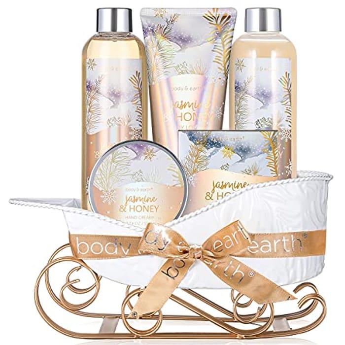 BODY & EARTH Spa Gift Sets - Jasmine & Honey