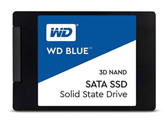 WD Blue 3D NAND Internal SSD 2.5 Inch SATA - 1 TB, Blue £78.86 at Amazon