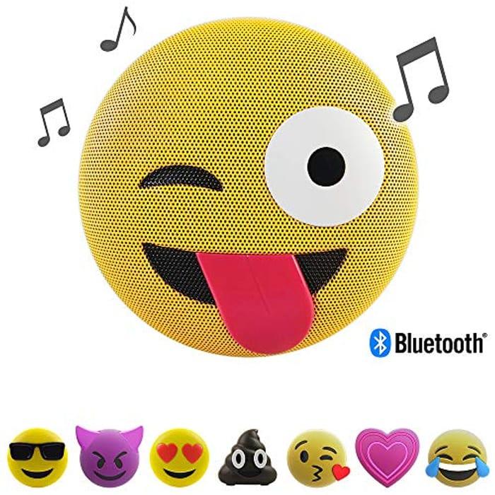 4.6 out of 5 Stars 398Reviews Jam Audio Jamoji Winking Emoji Portable