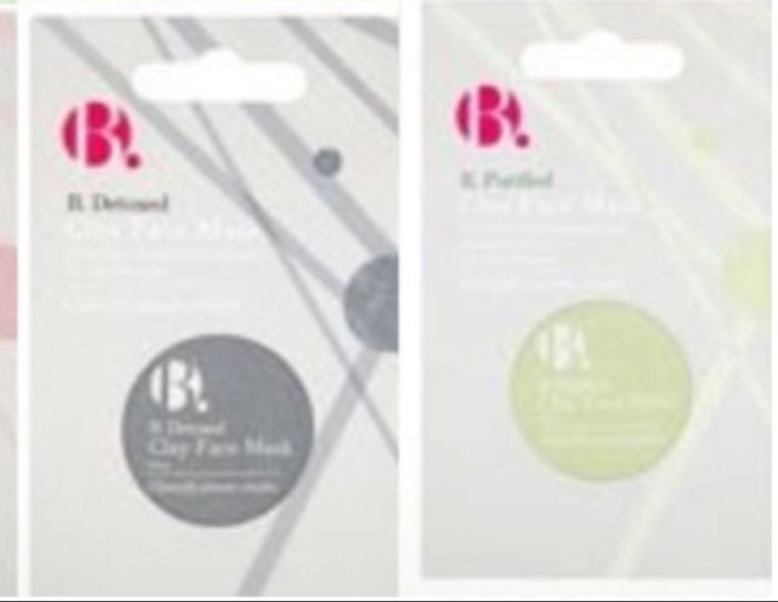 1/2 Price on B. Purified,Detox, Glowing Clay Face Masks 10ml