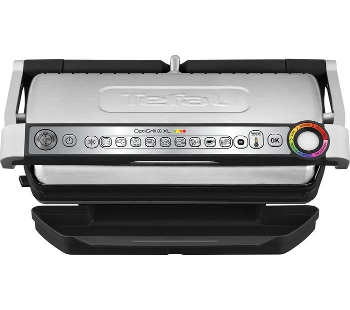 *SAVE £21* TEFAL Optigrill XL Grill - Stainless Steel & Black