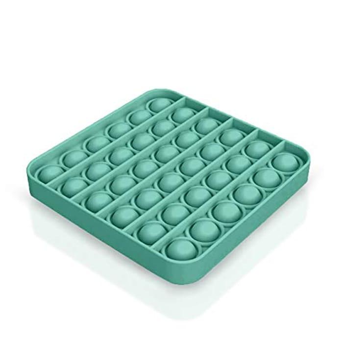 SafeHaven Pop Fidget Toy | Square | Sensory Toys for Autism
