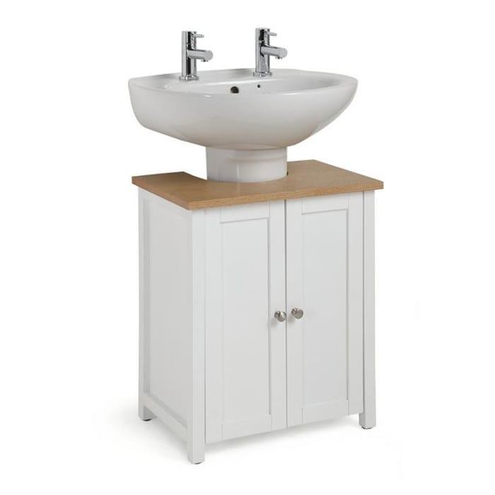Home Livingston under Sink - White