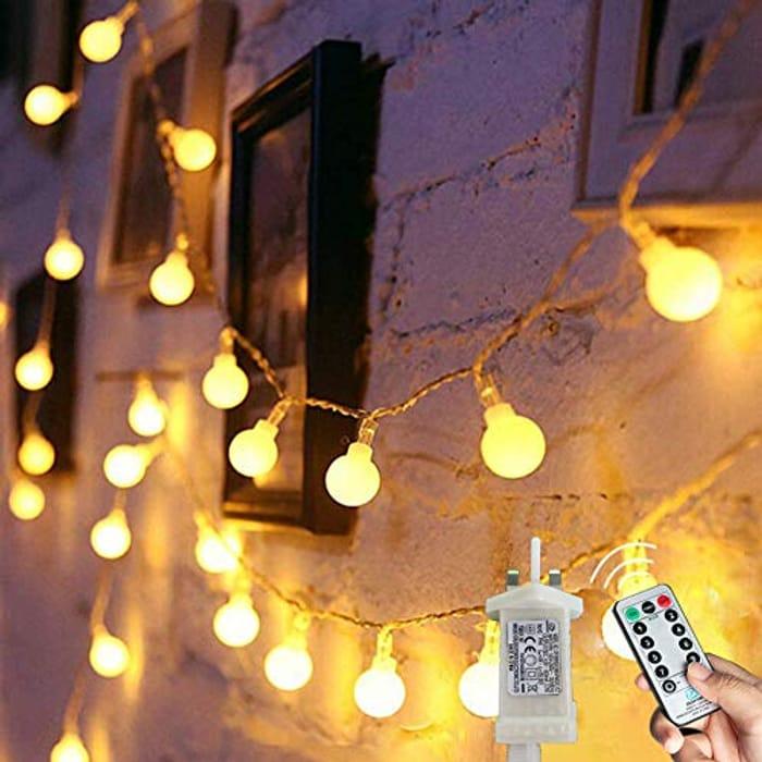 Globe String Lights Waterproof