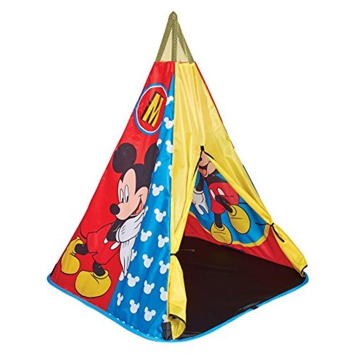 Disney 150MIY Mickey Mouse Tee Pee Play Tent, Blue