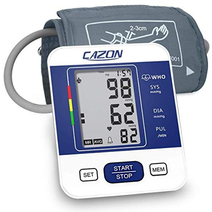 Blood Pressure Monitor Upper Arm BP Machine for Home Use BP