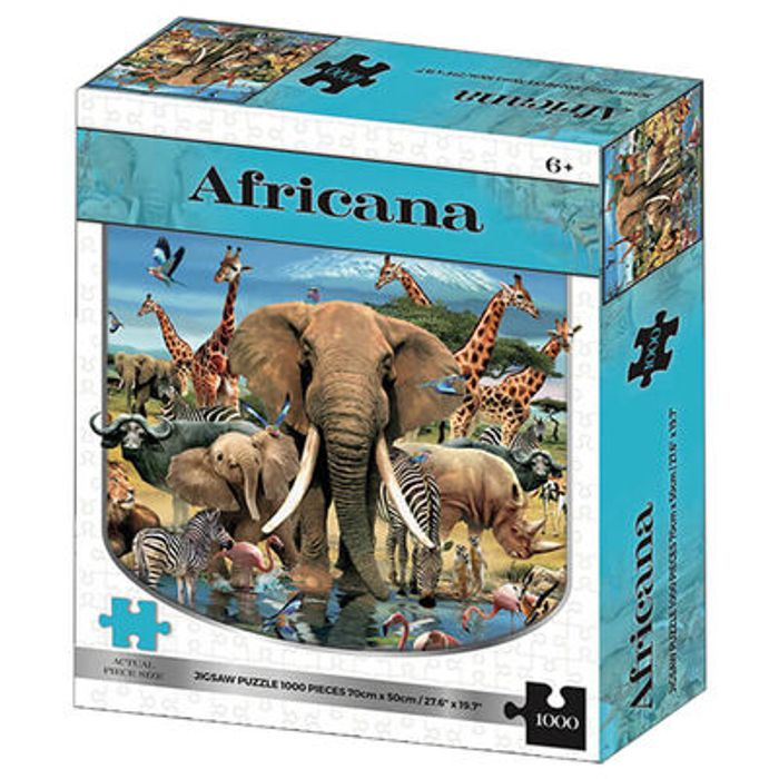 Africana 1000 Piece Jigsaw Puzzle