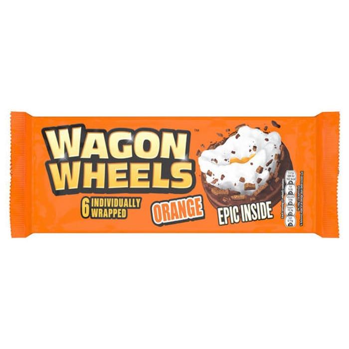 * NEW * Wagon Wheels Orange